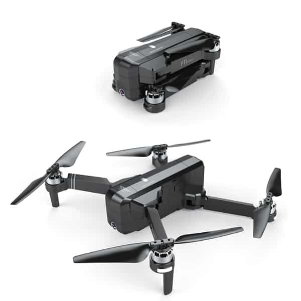 SJRC F11 kamerás drón
