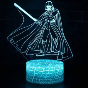 3D LED lámpa